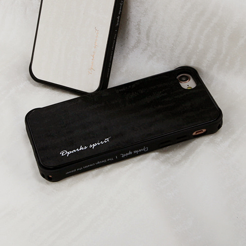 DPARKS SILKY WAVE LEATHER COVER - 블랙웨이브