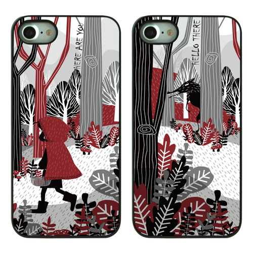 DPARKS Little Red Riding Hood BLACK CASE