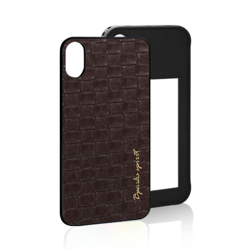 TEGACROSS  LEATHER COVER - BROWN